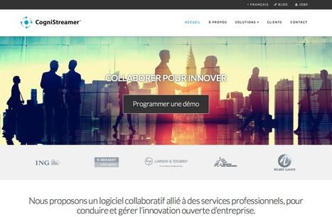 CogniStreamer Corporate Website in French - Outils de collaboration et services professionnels d'innovation | The Jazz of Innovation | Scoop.it