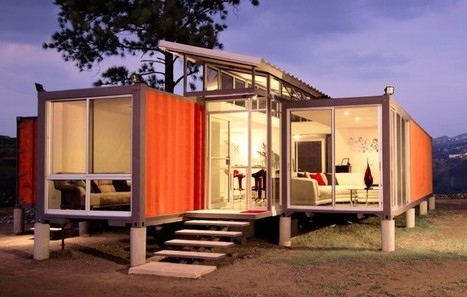 Containers Of Hope: A Sustainable Home – Urban Times | sustainable architecture | Scoop.it
