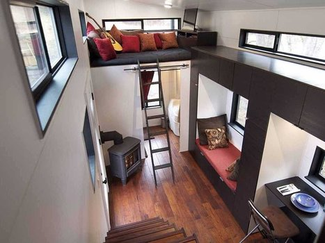 This couple gave up 90% of their possessions and sold their dream house to build this incredible tiny home they absolutely love | Écolonomie, e-tourisme et réseaux sociaux | Scoop.it