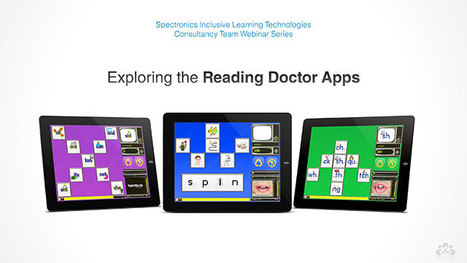 Latest Spectronics Online Video! Exploring the Reading Doctor Apps | The Spectronics Blog | iPads in Special Education | Scoop.it