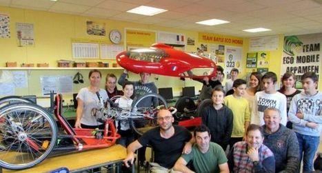 Les apprentis mécaniciens s'ouvrent aux idées extérieures   Collège Pierre Bayle   Scoop.it
