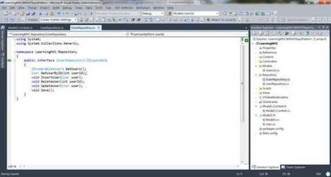 A Practical Approach: Learning MVC - Part 5:Repository Pattern in MVC3 Application with Entity Framework | A Practical Approach | Scoop.it