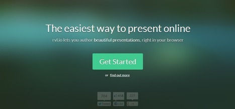 rvl.io - Great web based presentation tool | lärresurser | Scoop.it