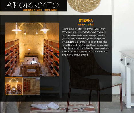 Apokryfo Traditional Houses, Lofou Cyprus - wine   Wine Cyprus   Scoop.it
