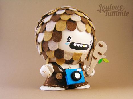 LouLou & Tummie | Vectors & Toys Duo | les Artistes du Web | Scoop.it