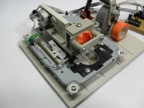 DIY : Fabriquer une imprimante à partir de pièces détachées d'un lecteur DVD | Semageek | BarFabLab | Scoop.it
