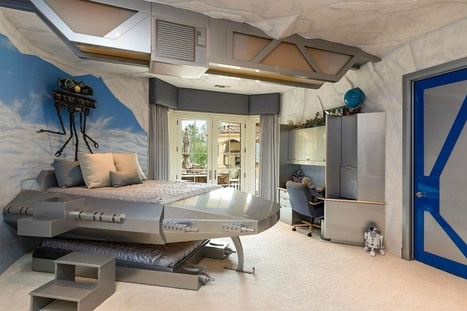 Tauntaun not included: $14.9-Million Home with Star Wars-themed Room for Sale | Technology in Business Today | Scoop.it