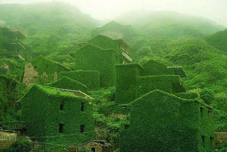 En images : en Chine, la nature reprend ses droits sur un village déserté | Travel & Backpacking | Scoop.it