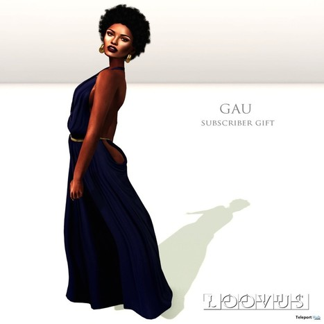 Gau Maxi Reflect Blue Subscriber Gift by Loovus | Teleport Hub - Second Life Freebies | Second Life Freebies | Scoop.it