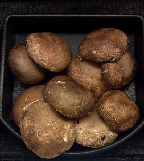 Grilled Portobello Mushrooms with Black Truffle Salt | Salts Worldwide | Scoop.it