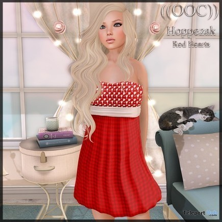 Red Hearts Dress Gift by OOC | Teleport Hub - Second Life Freebies | Second Life Freebies | Scoop.it
