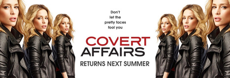Cancelled? No, Covert Affairs gets renewed for season 5 - Series 2.0   TV shows and series   Scoop.it