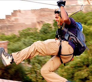 Adventure Sports in India | Most Adventurous Aerial tour in India with Flying Fox | Scoop.it