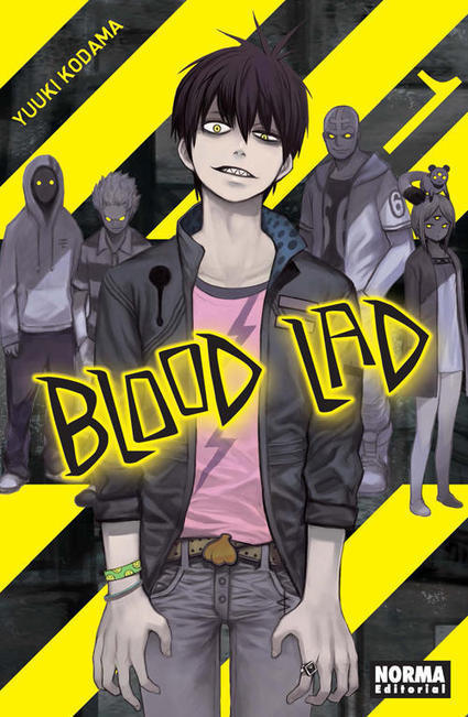 Norma presenta la preview de Blood Lad