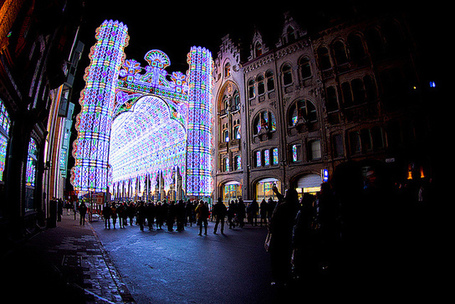 Street Illuminated with 55,000 LEDs at 2012 Light Festival Ghent | Advancements in Light, AR Tech (Advertising, Media) | Scoop.it