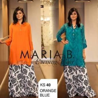 Maria B Women Fancy Evening Wear Cotton Collection   Fashion Website   Scoop.it
