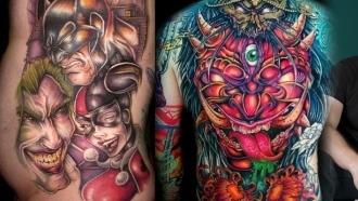 Maîtres tatoueurs: TJ Halverson tattoo un prêtre   Razorback Tattoo   Scoop.it