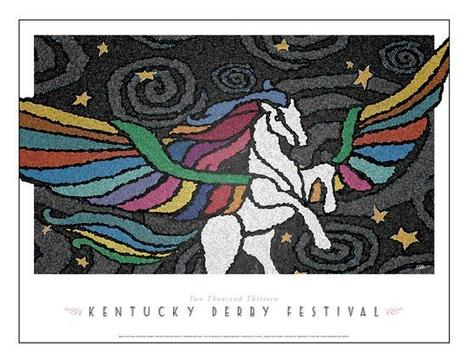 2013 Kentucky Derby Festival Poster Unveiled | Horse Racing News | Scoop.it