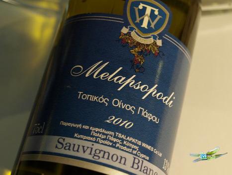 Melapsopodi Paphos regional white wine - Naturally Cyprus | Wine Cyprus | Scoop.it