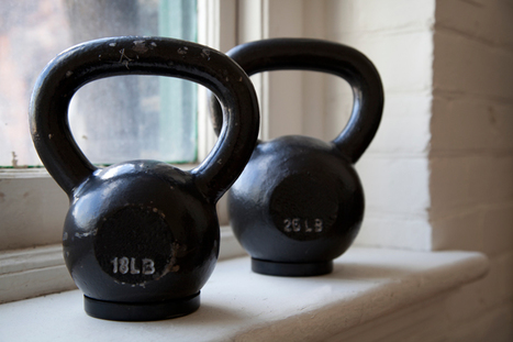 The Bar and Kettlebell Fat Burn Workout | Weight training + Nutrition | Scoop.it