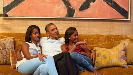 Intérieur de la maison blanche : le lieu de résidence privée de la famille Obama   I love it !   Scoop.it