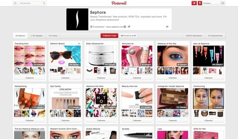 Pinterest : petit guide d'utilisation   idweaver   Inbound marketing & social média   Scoop.it