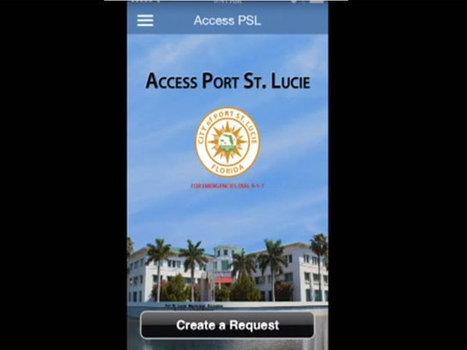 Port St. Lucie app allows public to report issues | LibertyE Global Renaissance | Scoop.it