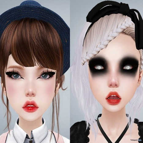 Basic Eyeliner & Zombie Eye Shadows One Word Event Group Gift By Miu   Teleport Hub - Second Life Freebies   Second Life Freebies   Scoop.it