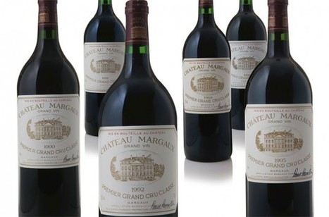 Prices soar at Chateau Margaux auction in New York | Grande Passione | Scoop.it