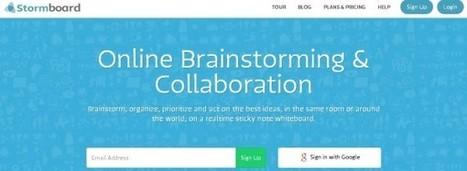 Stormboard, para colaboración en brainstormings online   RECURSOS TIC EN EDUCACIÓN   Scoop.it