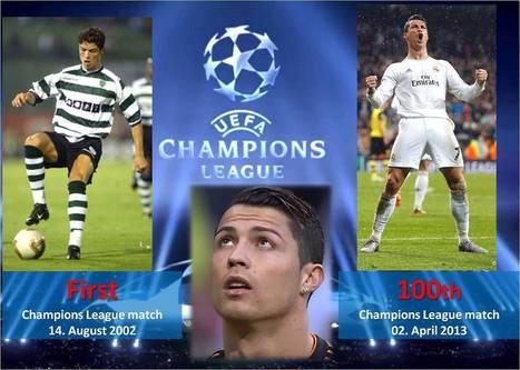 Talent Spy — Cristiano Ronaldo Champions League Statistics | Bola e craques | Scoop.it