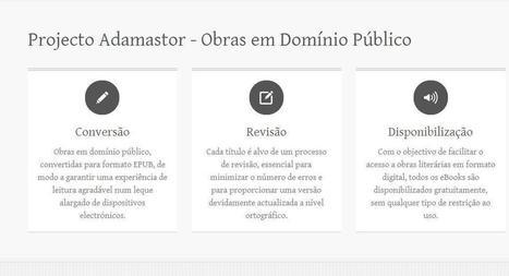 Projecto Adamastor – ebooks EPUB gratuitos de clássicos da literatura portuguesa | eBook Portugal | Literatura portuguesa | Scoop.it