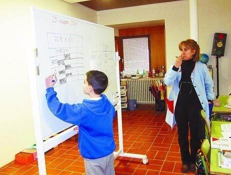 El colegio rural Diego Marín innova implantando un método de cálculo - Diario de Burgos | Método ABN | Scoop.it
