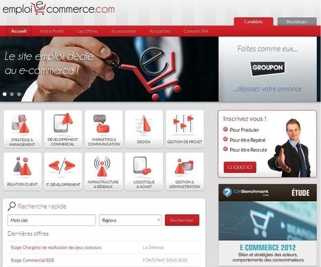 Lancement d'un nouveau site d'emploi 100% dédié à l'e-commerce | Web dev and more | Scoop.it