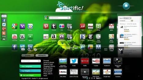 Startific, una bella página de inicio con iconos de todos tus sitios | Curación de contenidos e Inteligencia Competitiva | Scoop.it