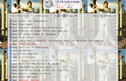 Voir en temps réel toutes les modifications sur Wikipedia (et prendre le vertige) | Doctor 2.0 | Scoop.it