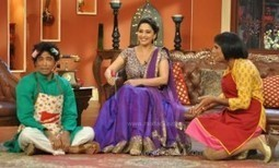 Madhuri Dixit & Huma Qureshi on the set of Comedy Nights With Kapil | Bollywood Movies, Videos, Photos, Events | Scoop.it