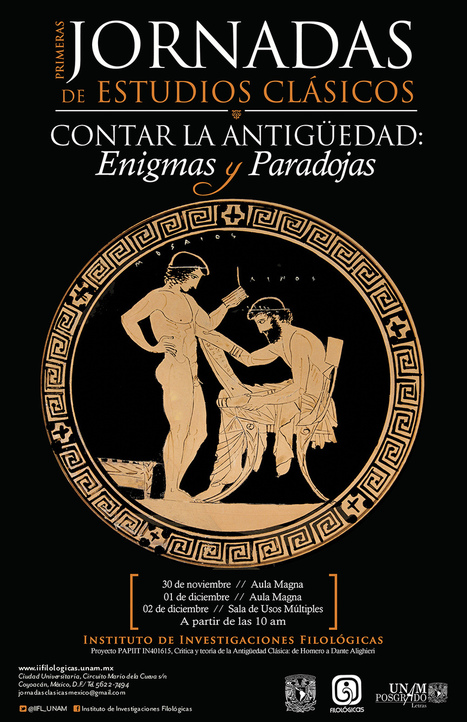 Jornadas de Estudios Clásicos. Contar la antigüedad: Enigmas y Paradojas | LVDVS CHIRONIS 3.0 | Scoop.it