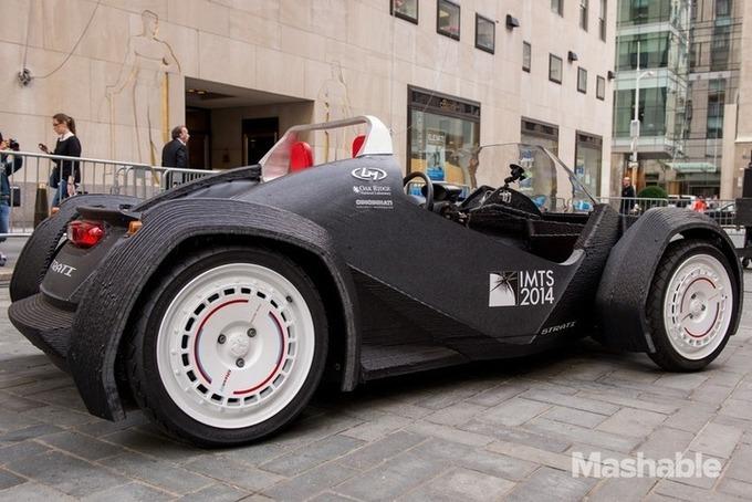 SeriousGame.be - Strati, la première voiture presque entièrement imprimée en 3D - MonUnivers3D