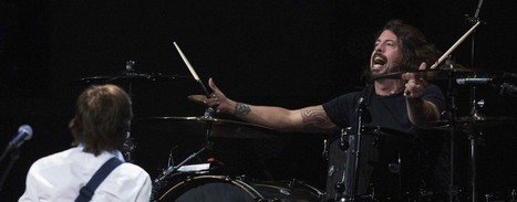 Dave Grohl denies Nirvana will reunite for tour as Paul McCartney trackreleased   Nirvana01   Scoop.it