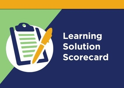 Benchmark Training With Our Learning Solution Scorecard | elearning&knowledge_management | Scoop.it