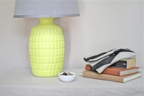 Abstrakt ideas | brit: Liven up your lamp with this quick-n-easy... | Creative Cables and Lighting Design | Scoop.it