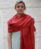 Buy Eri Silk Pink Stoles Online India - Gocoop | Handlooms India | Scoop.it