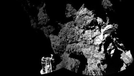 La nave Philae sigue activa sobre la superficie del cometa   Ciència al CFA Palau de Mar   Scoop.it