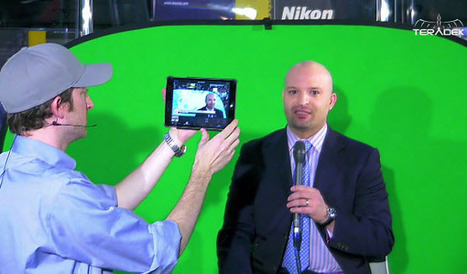 Touchcast App - NAB 2014 from Teradek | Backpack Filmmaker | Scoop.it