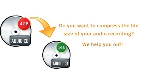 Do you want to compress the file size of your audio recording? We help you out! | Audio recording apps | Scoop.it