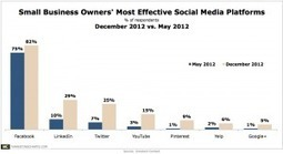 More Small Biz Owners Say They Find LinkedIn, Twitter, YouTube Effective | Online Video Marketing for Business | Scoop.it