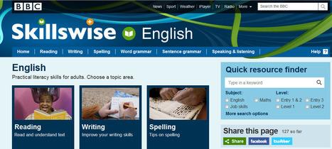 SkillsWise - Speaking and listening | BBC | English language teaching | Scoop.it