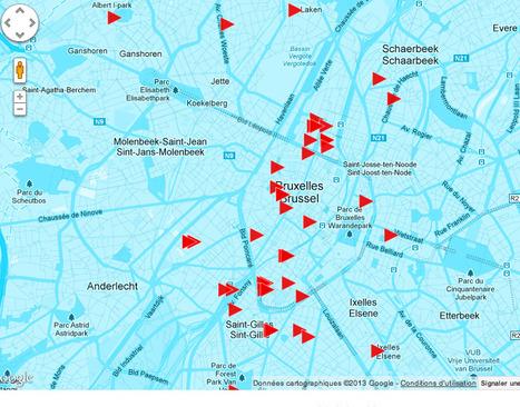 CARTE SONORE DE BRUXELLES | DESARTSONNANTS - CRÉATION SONORE ET ENVIRONNEMENT - ENVIRONMENTAL SOUND ART - PAYSAGES ET ECOLOGIE SONORE | Scoop.it