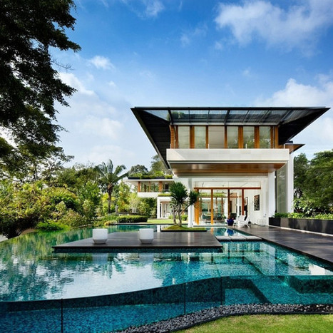Residence in Singapore Displaying Luxurious Brilliance | House Porn | Scoop.it